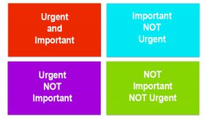 Genesis Background Screening Prioritize - Important Versus Urgent